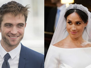 Robert Pattinson y Meghan Markle