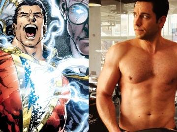 Zachary Levi es Shazam!