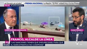 """Juan Franco, alcalde de La Línea: """"Tienen que endurecerse las penas para que el narcotráfico no compense"""""""