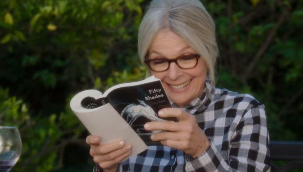 Diane Keaton lo flipa con 'Cincuenta sombras de Grey'