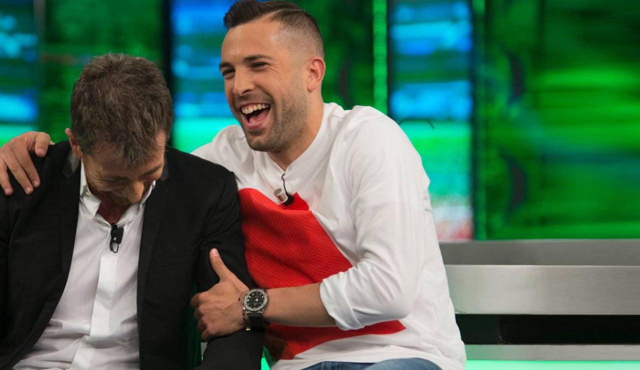 Jordi Alba en 'El Hormiguero 3.0'