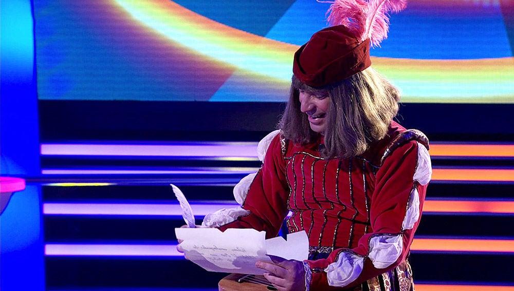 Arturo Valls, el juglar con el cantar más divertido de 'La Catedral del Mar'