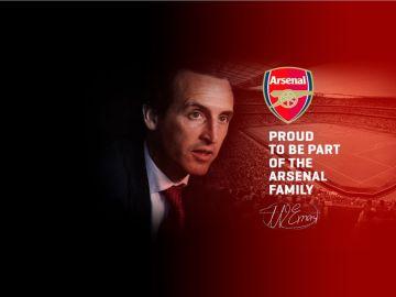 La web de Unai Emery filtra su fichaje por el Arsenal