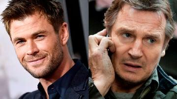 Chris Hemsworth y Liam Neeson trabajarán juntos