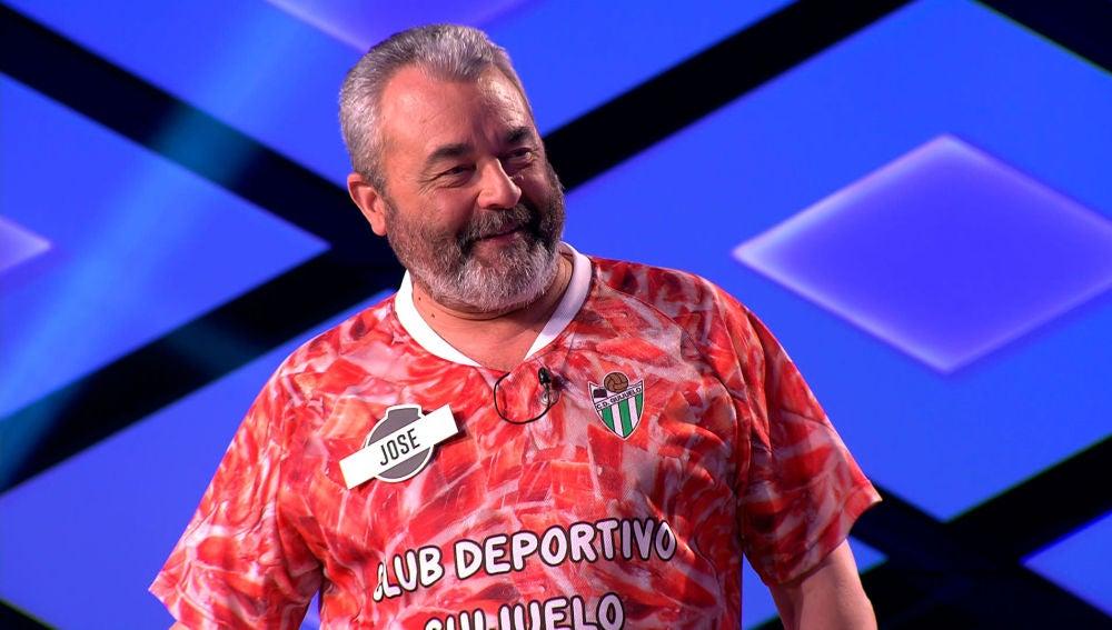 """""""José, te como"""", Juanra Bonet pone nervioso a uno de 'Los Lobos' en '¡Boom!'"""