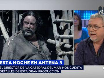 """Jordi Frades, director de 'La Catedral del Mar': """"Luchamos mucho por hacer algo fiel a la novela"""""""