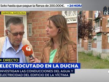 """El padre del hombre electrocutado en la ducha: """"Antes de morir pidió que cortáramos el agua pero no hubo nada que hacer"""""""