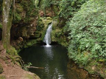 Paraje natural de los Baños de Popea donde encontraron el cuerpo