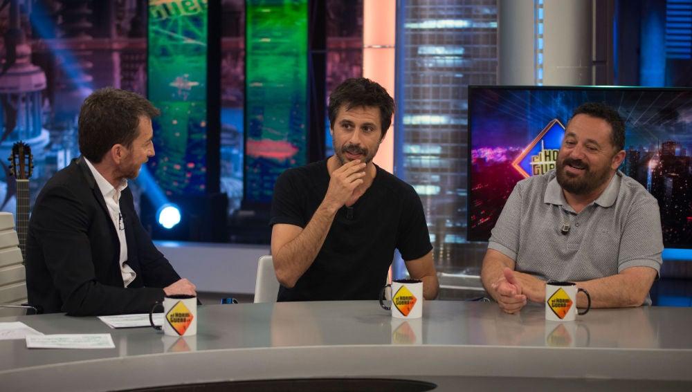 ¿Qué opinan Hugo Silva y Pepón Nieto sobre los intercambios de pareja?