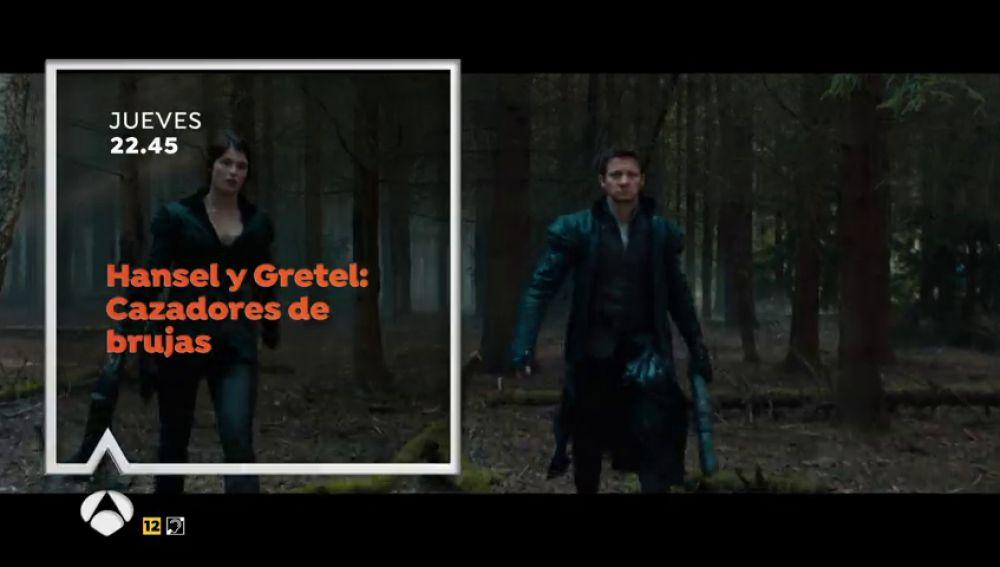 Jeremy Renner y Gemma Arterton protagonizan 'Hansel y Gretel: Cazadores de brujas' en Antena 3ESTE JUEVES EN ANTENA 3