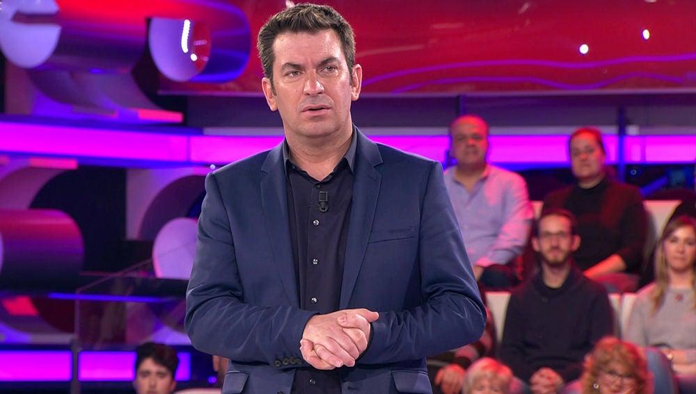 La profunda conversación entre Arturo Valls y un concursante