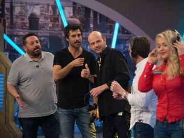 Hugo Silva y Pepón Nieto juegan en 'El Hormiguero 3.0' al 'teléfono escacharrado' en polaco