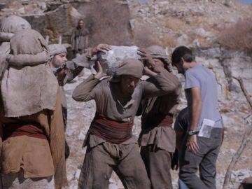 ¿Cuánto pesaban las piedras que transportaban los bastaixos?