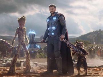 La batalla de 'Vengadores: Infinity War'