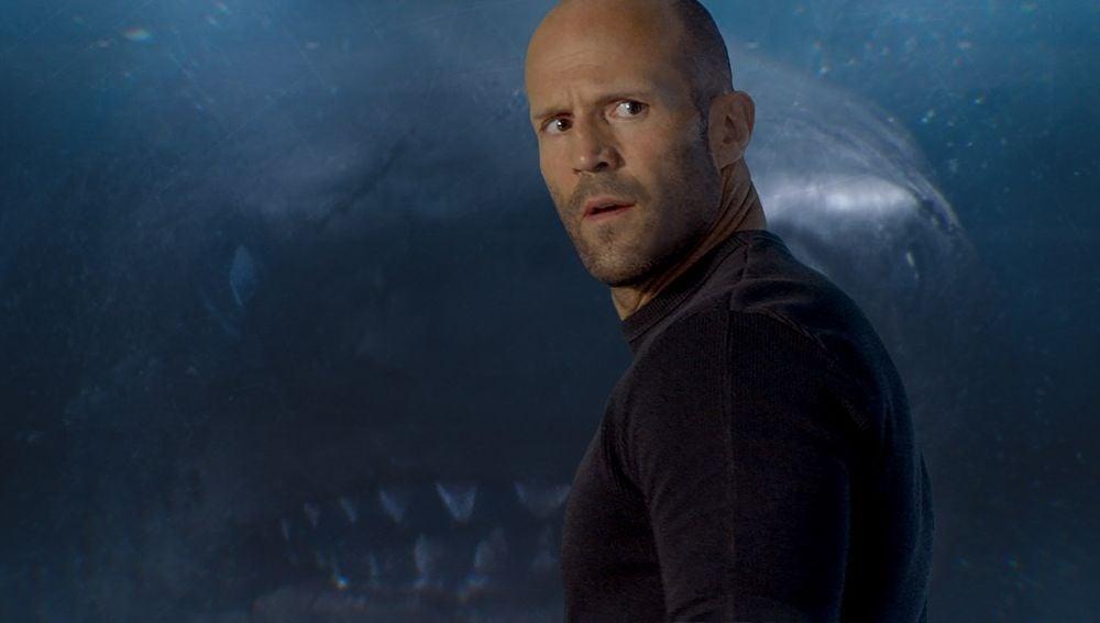 Jason Statham en 'Megalodón'