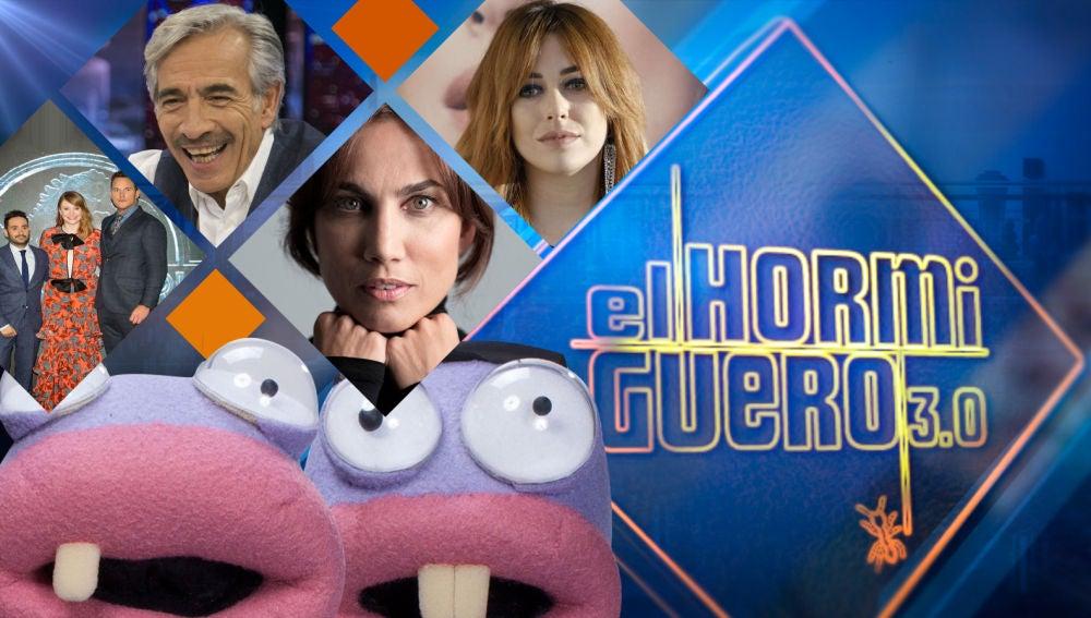 J. Bayona, Chris Pratt y Bryce Dallas Howard, Imanol Arias, Toni Acosta y Blanca Suárez visitarán 'El Hormiguero 3.0' la próxima semana