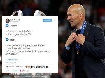 Memes tras la dimisión de Zidane
