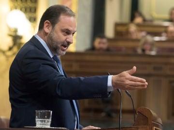 José Luis Ábalos, en el Congreso de los Diputados