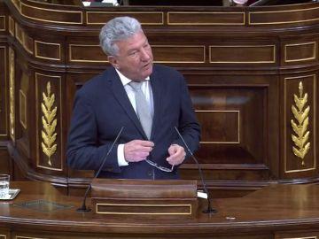 Pedro Quevedo participa en el debate de la moción de censura contra el Gobierno de Rajoy