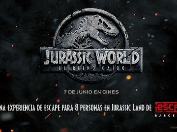 Concurso 'Jurassic World: El Reino Caído'