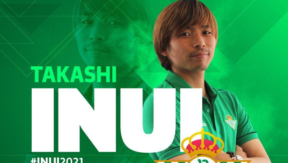Takashi Inui, nuevo fichaje del Betis hasta junio de 2021