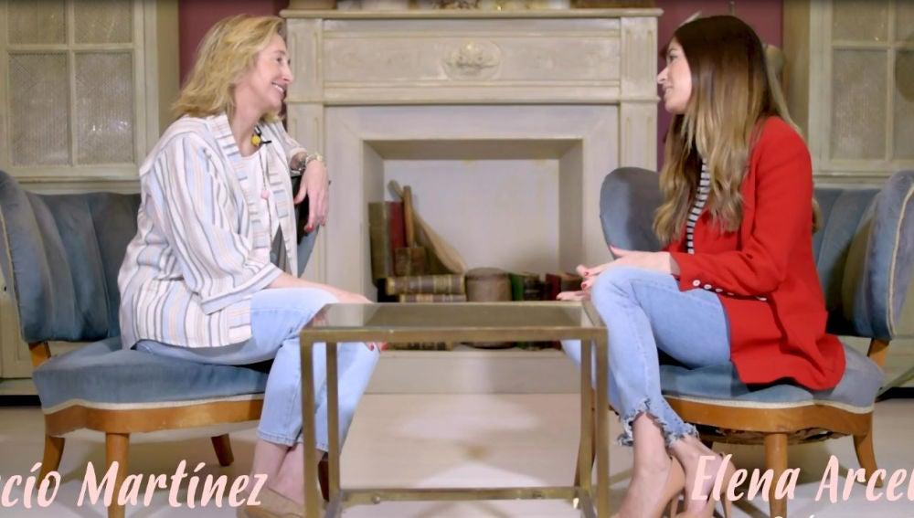 Elena Arcelus entrevista a Rocío Martínez
