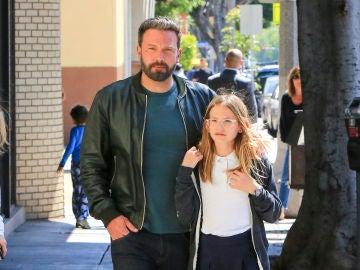 Ben Affleck solo tiene ojos para su hija Violet