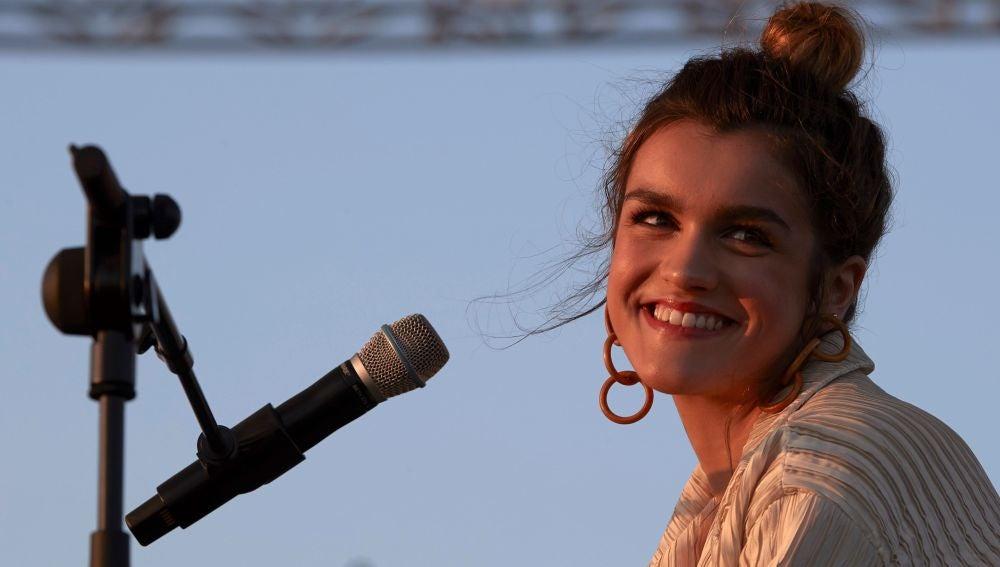 Amaia Romero en su actuación en el Primavera Sound 2018