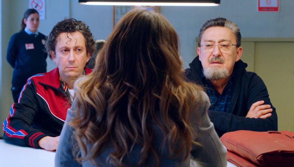 Benito y Cristóbal ante la única opción para librarles de la cárcel, ¿aceptarán?
