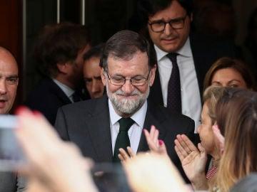 El expresidente del del PP, Mariano Rajoy