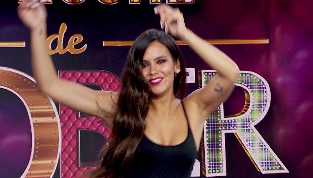 Cristina Pedroche baila '¿Y el anillo pa' cuando?' en la fiesta final de 'La noche de Rober'