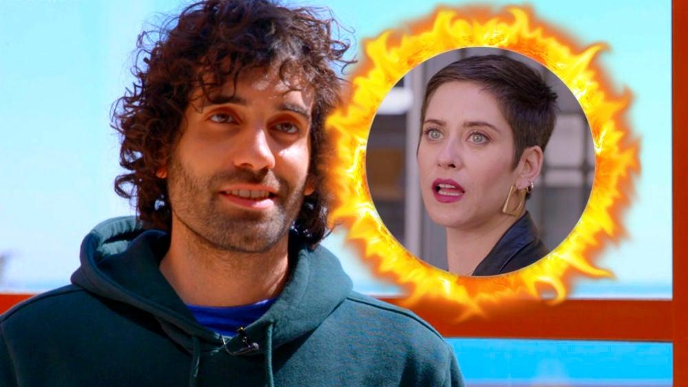 Tamar Novas adelanta cómo evolucionará el fuego entre Yago y Carmen en 'Allí abajo'