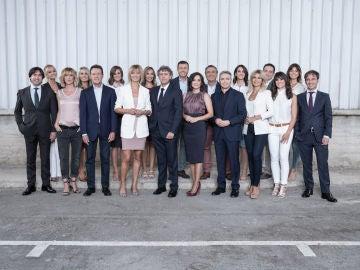 Foto del equipo de Antena 3 Noticias