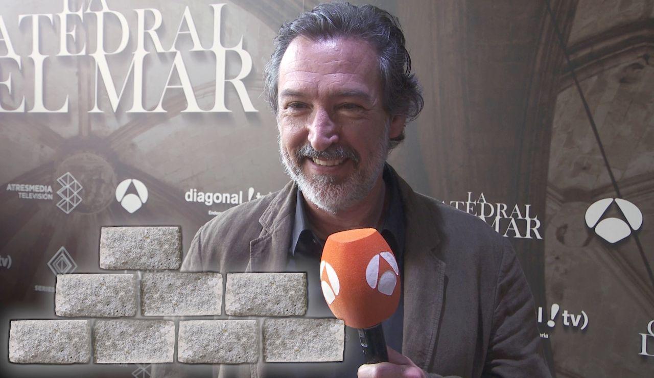 ¿Cuánto sabe Ginés García Millán sobre 'La Catedral del Mar'? ¡Lo ponemos a prueba con este test a contrarreloj!