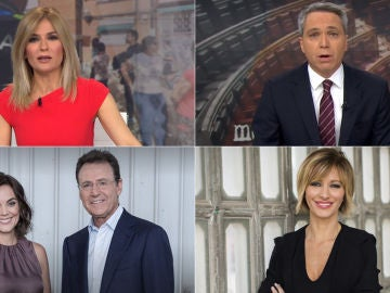 Audiencias Antena 3 Noticias