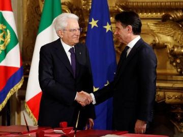Giuseppe Conte presta juramento como nuevo primer ministro de Italia