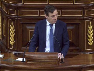 """Hernando, a Sánchez: """"Ya humilló a sus diputados, primero les llamó traidores por abstener y ahora les llama incompetentes por negarse a los Presupuestos del PP"""""""
