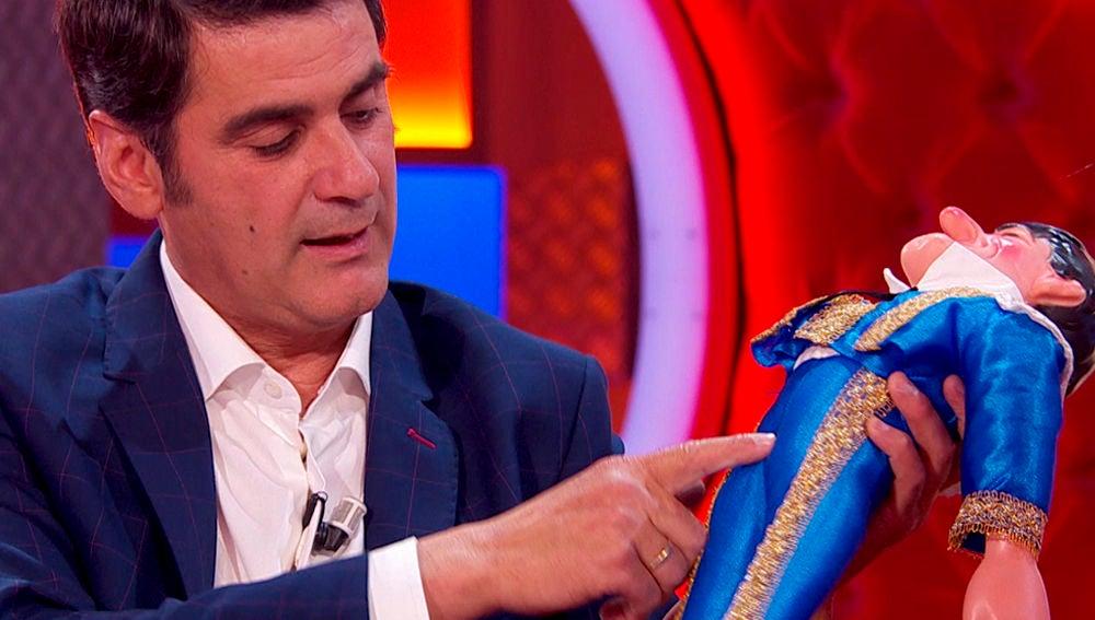 Jesulín de Ubrique revela el total de cicatrices que lleva en su cuerpo ante 'Mercedes Milá'