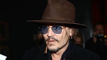 El actor Johnny Depp en una de sus últimas apariciones públicas