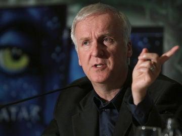James Cameron en una charla sobre 'Avatar'