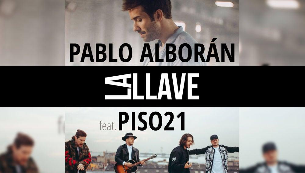 El making of en exclusiva de 'La llave' de Pablo Alborán junto a Piso 21