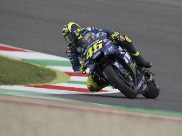 Valentino Rossi, con la Yamaha