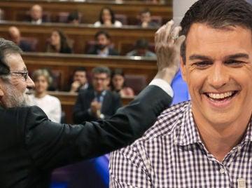 El premonitorio mensaje de despedida de Pedro Sánchez a Mariano Rajoy en su última visita a 'El Hormiguero 3.0'