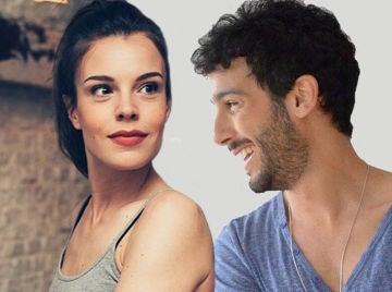 Lucía Martín y Jonás Berami, María e Ignacio en 'Amar es para siempre'