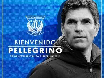 El Leganés da la bienvenida a Mauricio Pellegrino