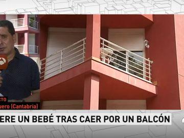 <p>Muere un bebé de 14 meses tras caer desde el balcón de su casa en Cantabria</p>