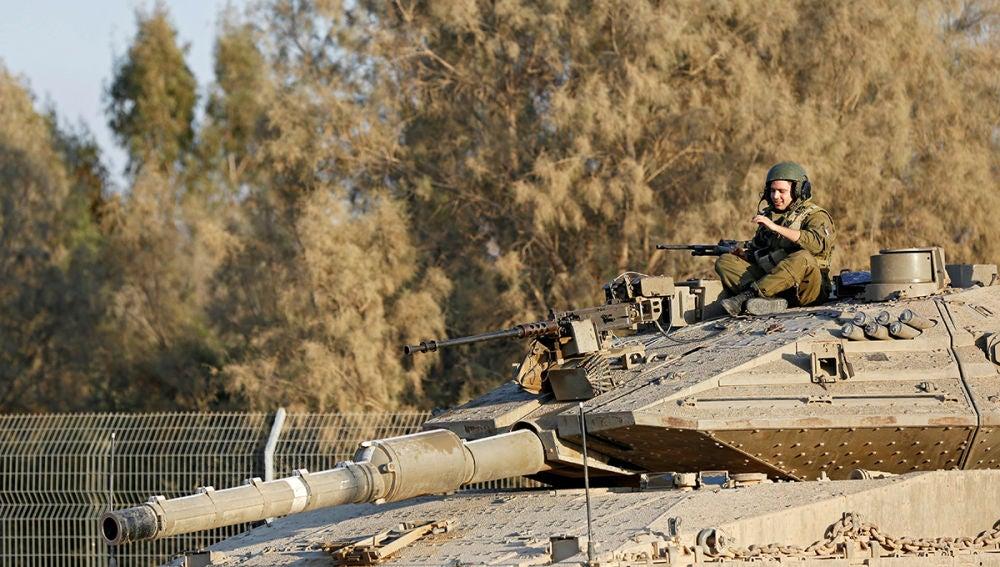 Imagen de archivo de los soldados de Israel