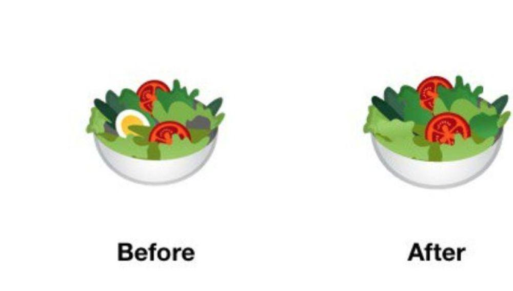 Emoji de ensalada