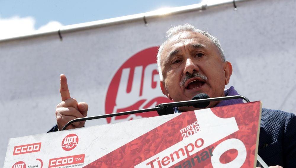 El secretario general de UGT, Pepe Álvarez (Archivo)q