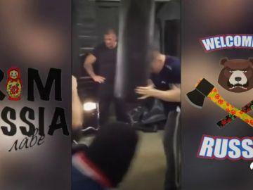 Los ultras rusos amenazan el Mundial: así son sus extremos entrenamientos